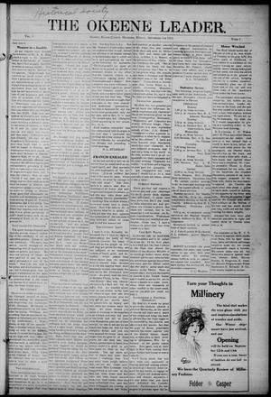 Primary view of object titled 'The Okeene Leader. (Okeene, Okla.), Vol. 9, No. 6, Ed. 1 Friday, September 5, 1913'.