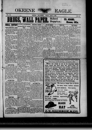 Primary view of Okeene Eagle. (Okeene, Okla.), Vol. 12, No. 25, Ed. 1 Friday, April 6, 1906