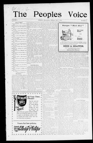 The Peoples Voice (Norman, Okla.), Vol. 9, No. 41, Ed. 1 Friday, May 3, 1901