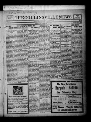 Primary view of object titled 'The Collinsville News. (Collinsville, Okla.), Vol. 13, No. 24, Ed. 1 Thursday, November 9, 1911'.