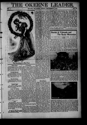 Primary view of object titled 'The Okeene Leader. (Okeene, Okla.), Vol. 4, No. 26, Ed. 1 Friday, December 31, 1909'.