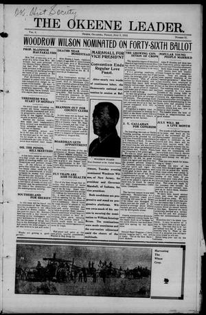 Primary view of object titled 'The Okeene Leader. (Okeene, Okla.), Vol. 6, No. 51, Ed. 1 Friday, July 5, 1912'.