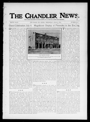 Primary view of object titled 'The Chandler News. (Chandler, Okla.), Vol. 10, No. 38, Ed. 1 Thursday, June 6, 1901'.