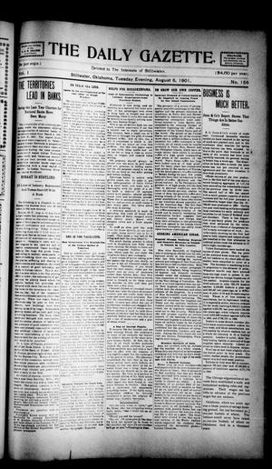 Primary view of object titled 'The Daily Gazette. (Stillwater, Okla.), Vol. 1, No. 156, Ed. 1 Sunday, August 4, 1901'.