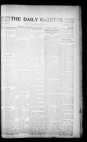 Primary view of object titled 'The Daily Gazette. (Stillwater, Okla.), Vol. 1, No. 234, Ed. 1 Monday, November 4, 1901'.