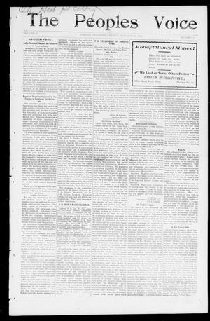 The Peoples Voice (Norman, Okla.), Vol. 10, No. 28, Ed. 1 Friday, January 31, 1902