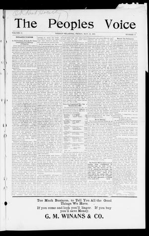 The Peoples Voice (Norman, Okla.), Vol. 10, No. 44, Ed. 1 Friday, May 23, 1902