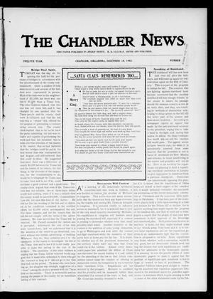 Primary view of object titled 'The Chandler News. (Chandler, Okla.), Vol. 12, No. 14, Ed. 1 Thursday, December 18, 1902'.
