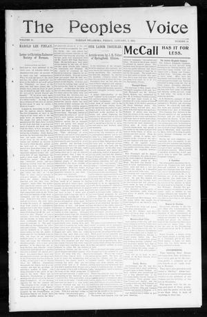 The Peoples Voice (Norman, Okla.), Vol. 11, No. 24, Ed. 1 Friday, January 2, 1903