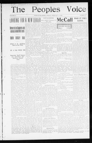 The Peoples Voice (Norman, Okla.), Vol. 11, No. 31, Ed. 1 Friday, February 20, 1903