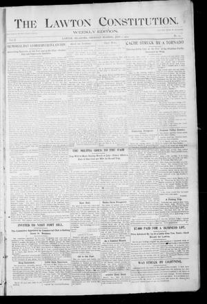 Primary view of object titled 'The Lawton Constitution. (Lawton, Okla.), Vol. 2, No. 14, Ed. 1 Thursday, June 2, 1904'.