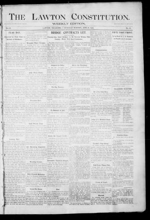 Primary view of object titled 'The Lawton Constitution. (Lawton, Okla.), Vol. 2, No. 16, Ed. 1 Thursday, June 16, 1904'.