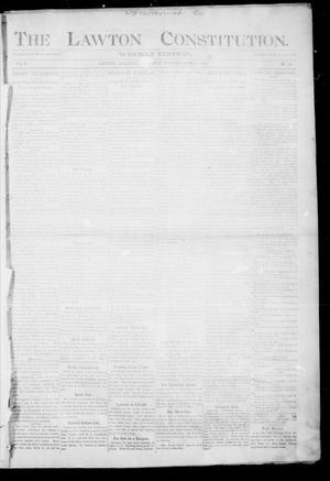Primary view of object titled 'The Lawton Constitution. (Lawton, Okla.), Vol. 2, No. 17, Ed. 1 Thursday, June 23, 1904'.