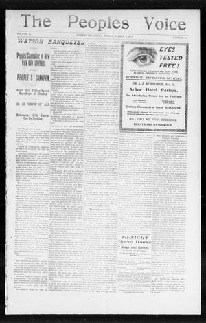 The Peoples Voice (Norman, Okla.), Vol. 13, No. 34, Ed. 1 Friday, March 3, 1905