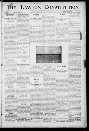 The Lawton Constitution. (Lawton, Okla.), Vol. 3, No. 21, Ed. 1 Thursday, July 27, 1905