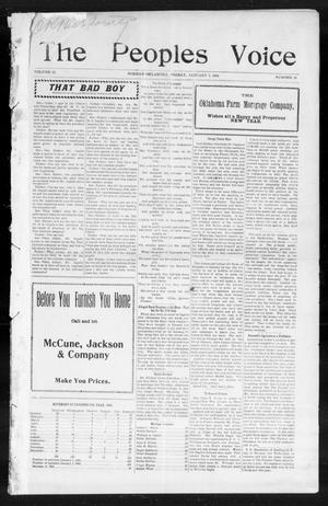 The Peoples Voice (Norman, Okla.), Vol. 14, No. 26, Ed. 1 Friday, January 5, 1906