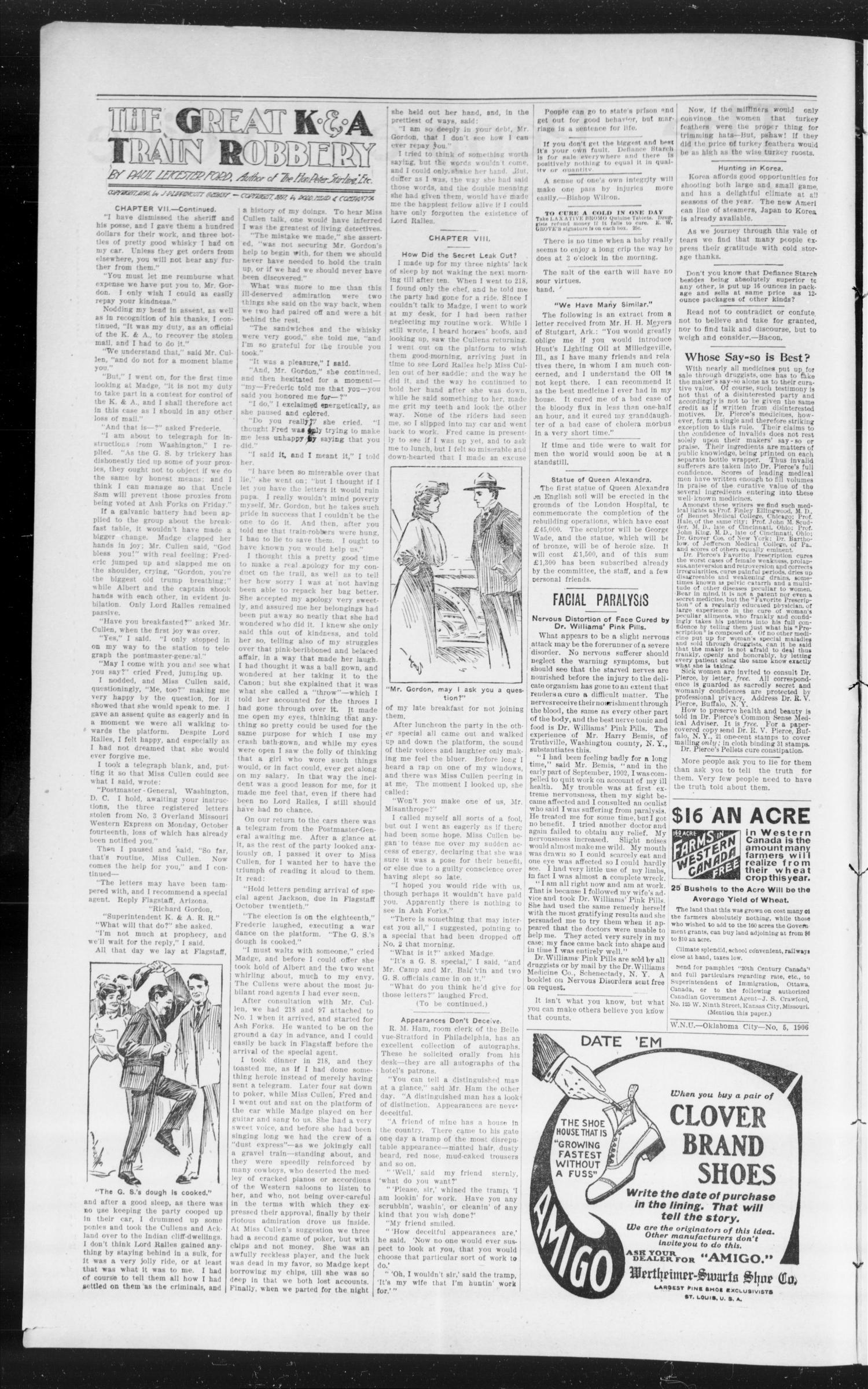 The Peoples Voice (Norman, Okla.), Vol. 14, No. 30, Ed. 1 Friday, February 2, 1906                                                                                                      [Sequence #]: 2 of 8