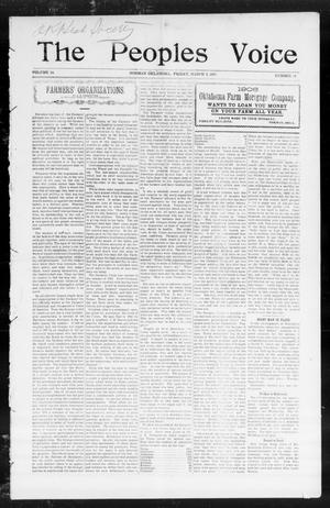 The Peoples Voice (Norman, Okla.), Vol. 14, No. 34, Ed. 1 Friday, March 2, 1906