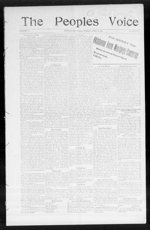 The Peoples Voice (Norman, Okla.), Vol. 14, No. 39, Ed. 1 Friday, April 6, 1906