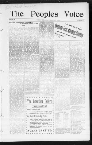 The Peoples Voice (Norman, Okla.), Vol. 14, No. 45, Ed. 1 Friday, May 18, 1906