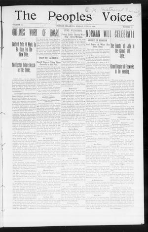 The Peoples Voice (Norman, Okla.), Vol. 14, No. 51, Ed. 1 Friday, June 29, 1906