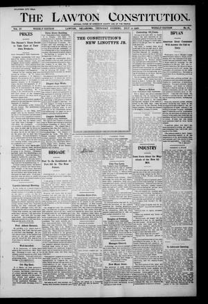 Primary view of object titled 'The Lawton Constitution. (Lawton, Okla.), Vol. 4, No. 18, Ed. 1 Thursday, July 12, 1906'.