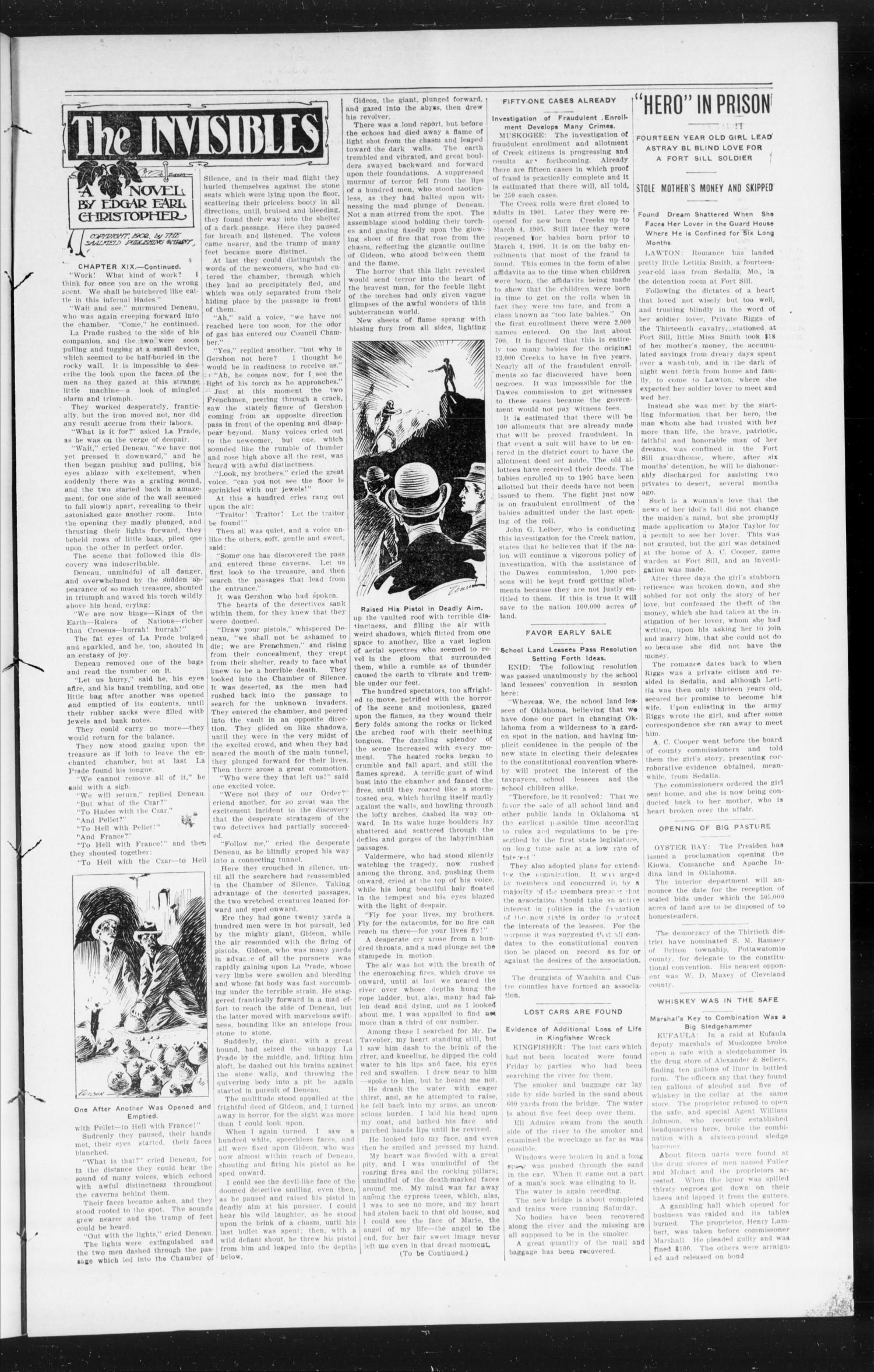 The Peoples Voice (Norman, Okla.), Vol. 15, No. 12, Ed. 1 Friday, September 28, 1906                                                                                                      [Sequence #]: 3 of 8