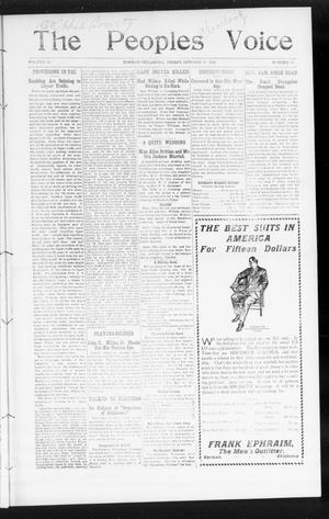 The Peoples Voice (Norman, Okla.), Vol. 15, No. 15, Ed. 1 Friday, October 19, 1906