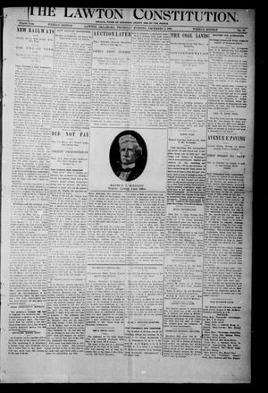 The Lawton Constitution. (Lawton, Okla.), Vol. 4, No. 37, Ed. 1 Thursday, December 6, 1906