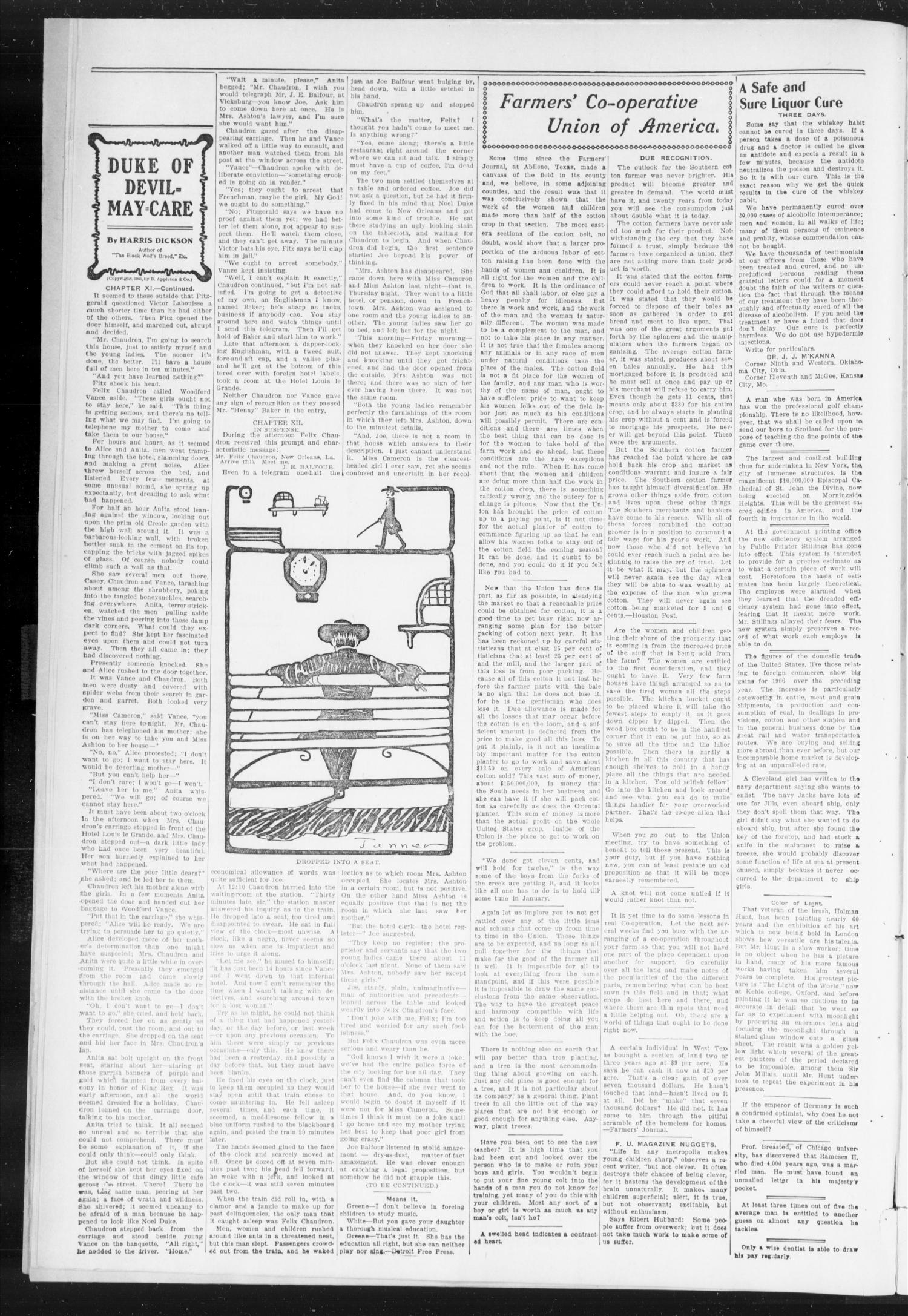 The Peoples Voice (Norman, Okla.), Vol. 15, No. 23, Ed. 1 Friday, December 21, 1906                                                                                                      [Sequence #]: 2 of 10