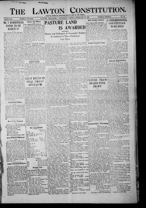 The Lawton Constitution. (Lawton, Okla.), Vol. 4, No. 45, Ed. 1 Thursday, February 14, 1907