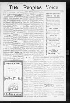 The Peoples Voice (Norman, Okla.), Vol. 15, No. 34, Ed. 1 Friday, March 8, 1907