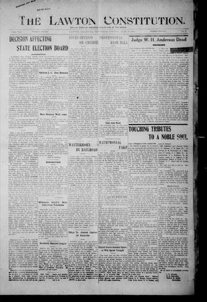 The Lawton Constitution. (Lawton, Okla.), Vol. 4, No. 1, Ed. 1 Thursday, April 11, 1907