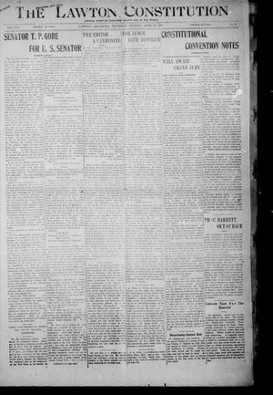 Primary view of object titled 'The Lawton Constitution. (Lawton, Okla.), Vol. 4, No. 2, Ed. 1 Thursday, April 18, 1907'.