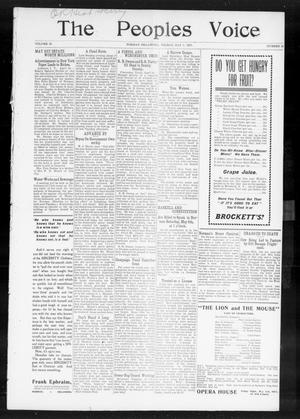 The Peoples Voice (Norman, Okla.), Vol. 15, No. 42, Ed. 1 Friday, May 3, 1907