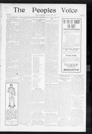 The Peoples Voice (Norman, Okla.), Vol. 15, No. 48, Ed. 1 Friday, June 14, 1907