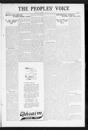 The Peoples' Voice (Norman, Okla.), Vol. 17, No. 1, Ed. 1 Friday, July 17, 1908