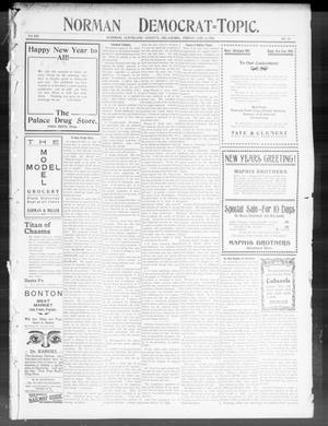 Primary view of Norman Democrat--Topic. (Norman, Okla.), Vol. 14, No. 23, Ed. 1 Friday, January 2, 1903