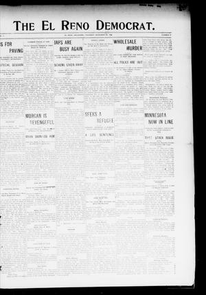Primary view of object titled 'The El Reno Democrat. (El Reno, Okla.), Vol. 17, No. 47, Ed. 1 Thursday, December 27, 1906'.