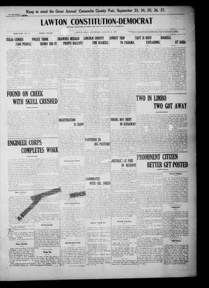 Primary view of object titled 'Lawton Constitution-Democrat (Lawton, Okla.), Vol. 6, No. 17, Ed. 1 Thursday, August 29, 1907'.
