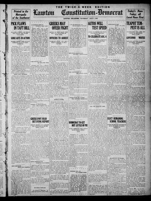 Primary view of Lawton Constitution-Democrat (Lawton, Okla.), Vol. 2, No. 16, Ed. 1 Thursday, July 1, 1909