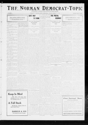 Primary view of object titled 'The Norman Democrat-Topic (Norman, Okla.), Vol. 23, No. 43, Ed. 1 Tuesday, February 20, 1912'.