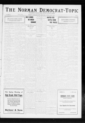 Primary view of object titled 'The Norman Democrat-Topic (Norman, Okla.), Vol. 23, No. 57, Ed. 1 Tuesday, April 9, 1912'.