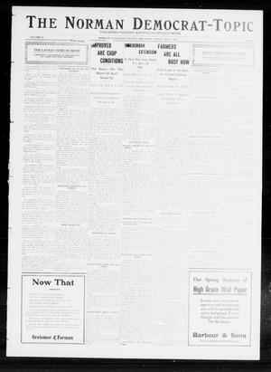 Primary view of object titled 'The Norman Democrat-Topic (Norman, Okla.), Vol. 23, No. 64, Ed. 1 Friday, May 3, 1912'.