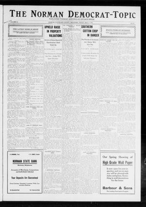 Primary view of object titled 'The Norman Democrat-Topic (Norman, Okla.), Vol. 23, No. 68, Ed. 1 Friday, May 17, 1912'.