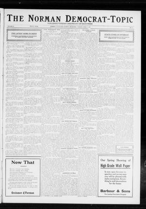 Primary view of object titled 'The Norman Democrat-Topic (Norman, Okla.), Vol. 23, No. 75, Ed. 1 Tuesday, June 11, 1912'.