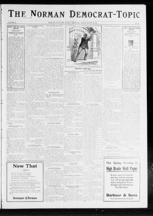 Primary view of object titled 'The Norman Democrat-Topic (Norman, Okla.), Vol. 23, No. 93, Ed. 1 Friday, August 23, 1912'.