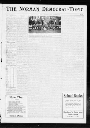 Primary view of object titled 'The Norman Democrat-Topic (Norman, Okla.), Vol. 23, No. 105, Ed. 1 Friday, November 15, 1912'.