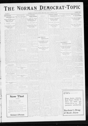 Primary view of object titled 'The Norman Democrat-Topic (Norman, Okla.), Vol. 24, No. 2, Ed. 1 Friday, January 10, 1913'.