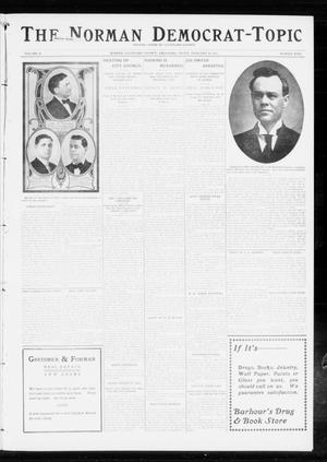 Primary view of object titled 'The Norman Democrat-Topic (Norman, Okla.), Vol. 24, No. 9, Ed. 1 Friday, February 28, 1913'.